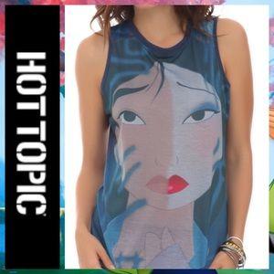 🍀 Hot Topic Disney Mulan Reflection Tank Top